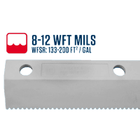18″ Easy Squeegee™ 8-12 WFT Mils Blade